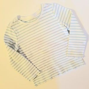 Gymboree Baby Striped Thermal Long Sleeve Shirt 2T